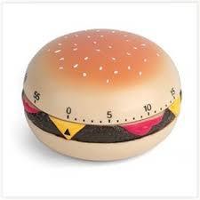 minuteur cuisine rigolo minuteur hamburger minuteur ustensile la cuisine en folie