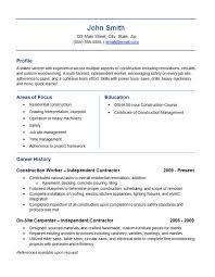 Roofing Job Description Resume by Download Contractor Resume Haadyaooverbayresort Com