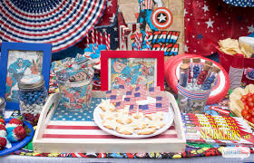 kids party ideas captain america party ideas for kids and adults atta girl says
