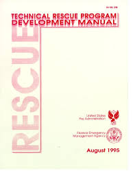 technical rescue program development manual emergency risk