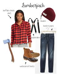 lumberjack costume follow the ruels