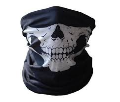 cool masks cool skull bandana bike helmet neck mask paintball ski sport