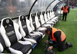 Stadium Bench Hold The Anchovies Cops Arrest Fan For Dumping Fish On Opponent U0027s