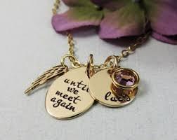 remembrance necklace remembrance necklace etsy