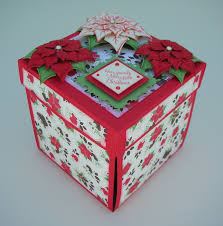 christmas gift card boxes crafting with princess exploding gift card holder box for