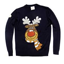 rudolph sweater the reindeer sweater from funky sweaters