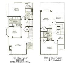 three home plans three bedroom house plans two home deco plans