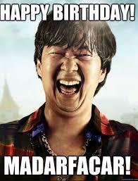 Birthday Memes For Guys - happy birthday meme for guys funny feeling like party