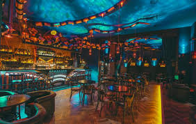 take a look inside this kraken themed steampunk inspired bar in