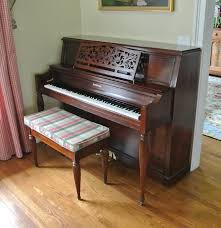 Baldwin Piano Bench - beautiful baldwin limited edition piano ebth