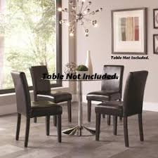 Upholstered Dining Chairs With Casters - Cushioned dining room chairs