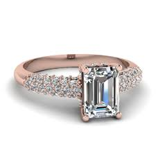 engagement rings engagement ring settings top 20 emerald cut diamond rings style fascinating diamonds