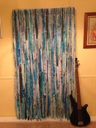 Hippie Drapes Caribbean Blues Hippie Curtains Gypsy Hippie By Kimscolorfulcrafts
