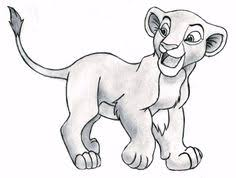 nala coloring pages simba sleeping on branch of tree lion king coloring page