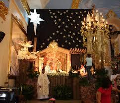 candon church christmas decor with fr vet 08 1 christmas decor