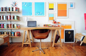 Colorful Desk Accessories Colorful Home Office Decor Ideas 8 At In Seven Colors Colorful
