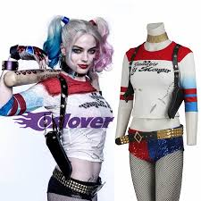 squad cosplay costume harley quinn batman female jacket