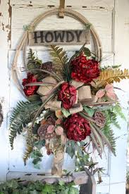 Country Western Home Decor 66 Best Western Wreaths Images On Pinterest Western Wreaths