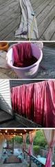 curtain dip dye i love this idea makes the porch look so much