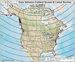 North America Climate Map by Brian B U0027s Climate Blog Daylight Twilight Astronomical Maps