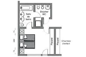 plan chambre enfant plan chambre enfant chambre avec dressing et salle de bain 5 plan