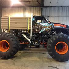monster truck crash videos the unveiling of our new team truck lumberjack crushstation
