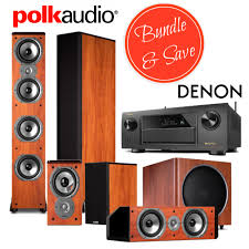 denon home theater receiver denon avr x6200w receiver bundle with polk tsi500 tsi100 cs10