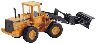 volvo inc volvo l 70c loader w snow plow dhs diecast collectables inc