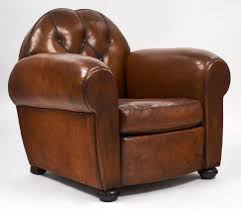 Most Comfortable Chair And Ottoman Design Ideas Chairs Surprising Brown Leather Club Chair With Additional