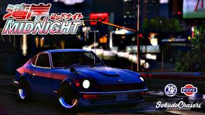 devil z vs ae86 nissan s30z wangan midnight devil z replace vehicules pour gta