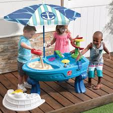 step 2 water table with umbrella step2 fiesta cruise water table with umbrella toys r us