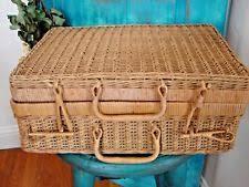 vintage picnic basket antique picnic basket ebay