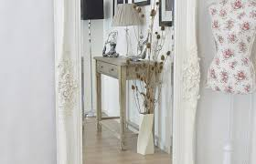Vintage Style Vanity Table Mirror B Amazing Shabby Chic Cream Mirror Clearance Homcom
