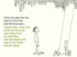 the giving tree quotes