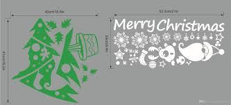 christmas wall art merry christmas wall art murals decal merry christmas wall art murals decal sticker colorful christmas tree white snowflake sock festival wallpaper poster