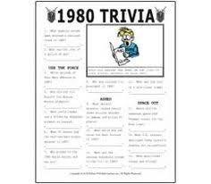 80s Trivial Pursuit 80 U0027s Trivia Questions Team Wheeler Rocks The U002780 U0027s Pinterest