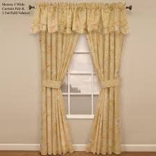 curtains cape coral floral window treatment wide curtain pair