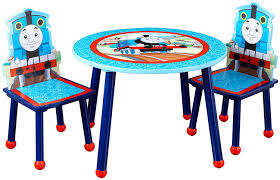 thomas the train activity table and chairs amazon com kidkraft thomas and friends table and chair set toys