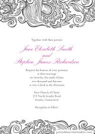wedding invitations borders free wedding pdf downloads deco border wedding invitation easy