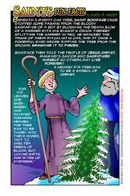 saints facts st boniface of mainz saints