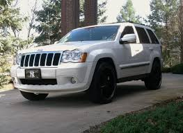 jeep wheels white bronxbball25 2008 jeep grand cherokeelimited sport utility 4d