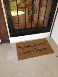 front door mats kapan date