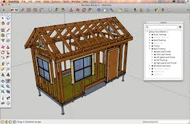 Sketchup by Designing A Tiny House In Sketchup Tutorials U0026 Resources Naj Haus