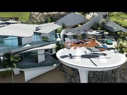 design a mansion modern contemporary curvilinear architecture design 60 million