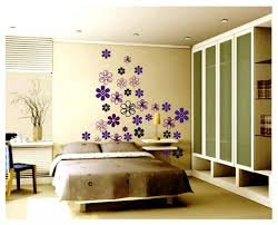 kids bedroom charming bedroom design with flower wall decal and