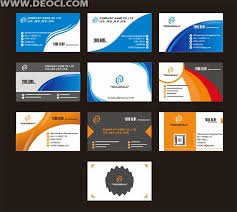 template business card cdr 10 exquisite design business card design template cdr file download