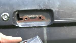 Replace Exterior Door Handle How To Repair Your Ford Broken Door Handle