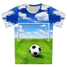 Baby Boy Football Clothes New 2016 Summer Children 3d T Shirt Football Basketball Bullet