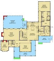 craftsman floor plan craftsman retreat with detached garage 29866rl architectural