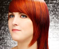 medium length angled hairstyles straight hairstyles with bangs for medium hair